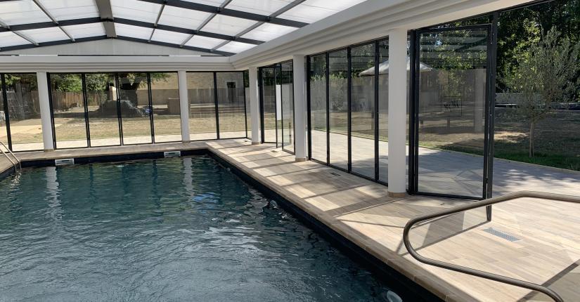 Hôtel Le Moulin des Marais - Swimming pool